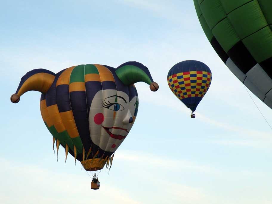 Hot air baloon festival - Photo by: Bang