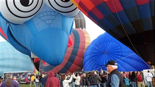 Hot air baloon festival