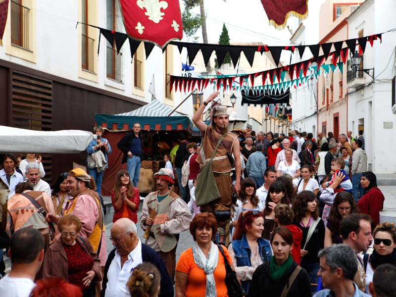 Ibiza Medieval Fair - Photo courtesy of: The Official Tourism Site of Ibiza  [www.ibiza.travel]