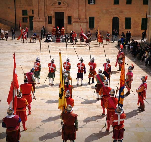 In Guardia Re-Enactments in Fort St Elmo - Photo courtesy of Martin Morana/MALTA TOURISM AUTHORITY