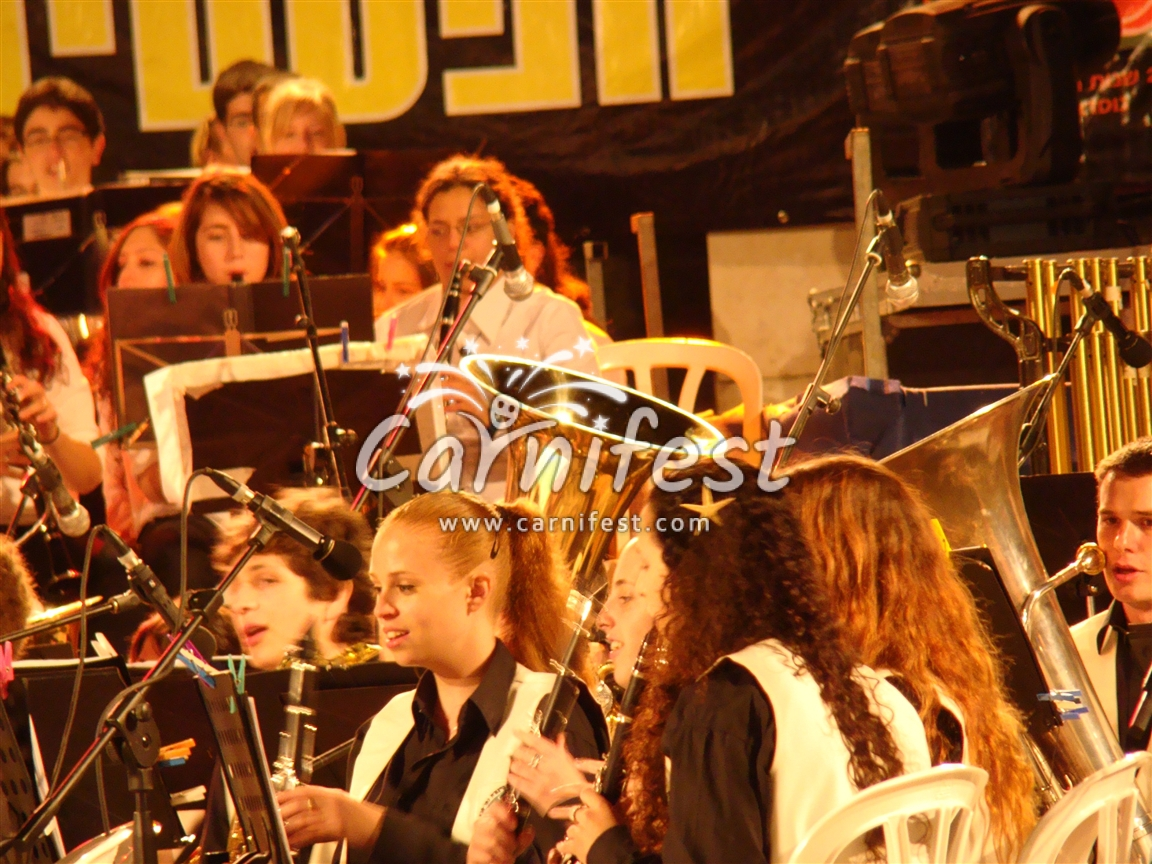 Israel Youth Orchestras Festival - Kfar Sava - CarniFest Online Photo © All Rights Reserved
