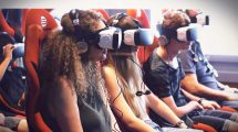 Jaffa Express Virtual Reality Experience - Photo by: Yuval Revach