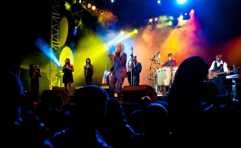 Jamaica Jazz Blues Festival, Billy Ocean 2010 - Photo by: jamaicajazzandblues.com