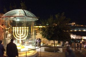 Jerusalem, Festival of lights, in the old city - Photo Courtesy of: Michal Lewenstein.