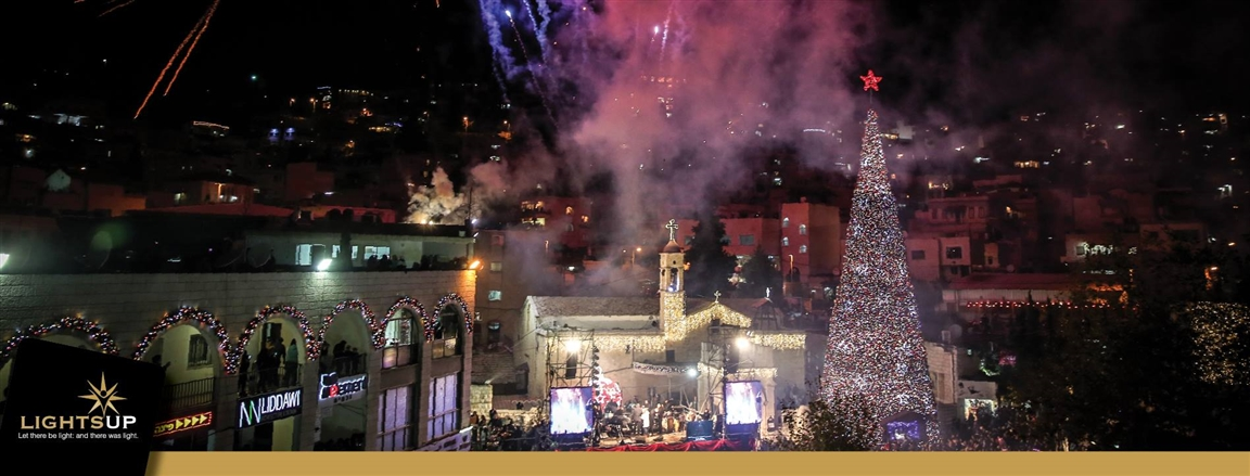 Jerusalem Christmas Market - Photo by: LITGHTSUP Facebook page