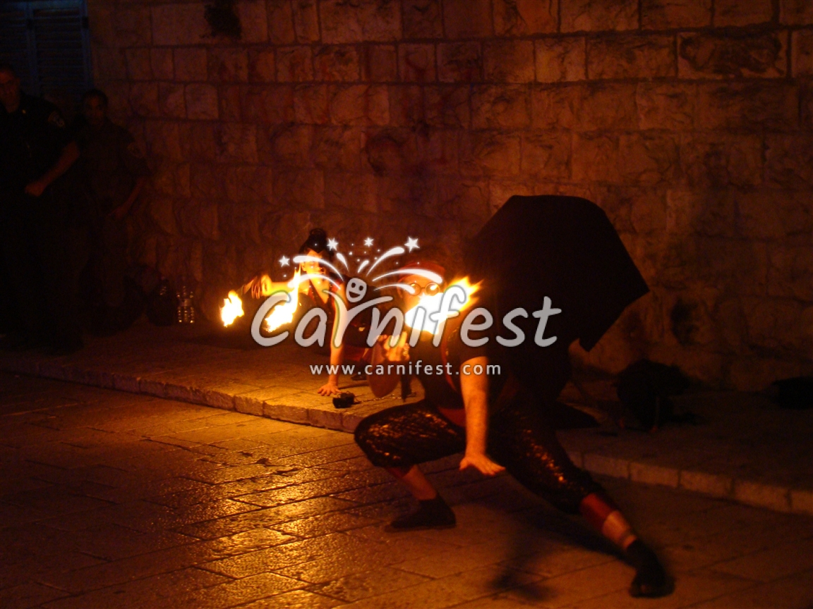 Jerusalem Ffestival of Lights - CarniFest Online Photo © All Rights Reserved