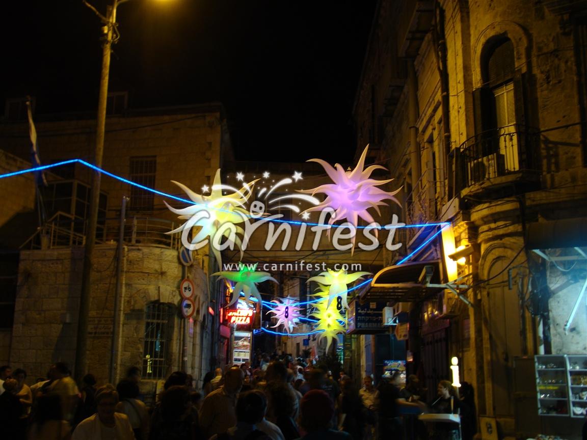 Jerusalem Light Festival - Photo by: CarniFest Online ©