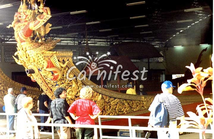 King of Thailand's boat - CarniFest Online Photo © All Rights Reserved