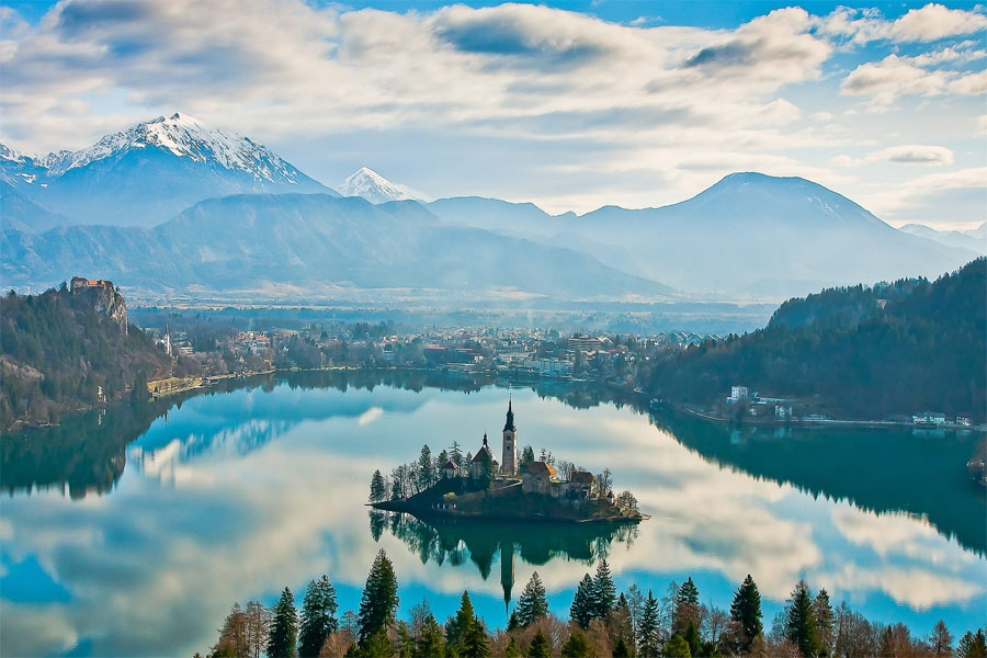Lake Bled - Photo by: www.bled.si