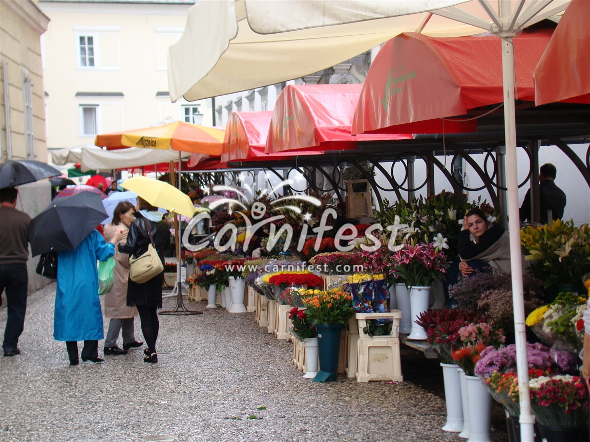 Ljubljana Central Market - CarniFest Online Photo © All Rights Reserved