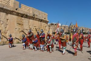 In Guardia Parade, Vittoriosa / Birgu - Malta - Photo courtesy of Malta Tourism Authority
