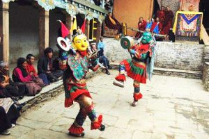 Chiwang Monastery - Mani Rimdu Festival mask dancers - Photo by: chiwongmonastery.com/