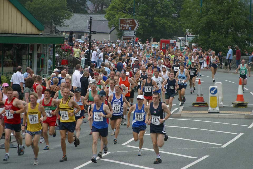Marathon run - Photo by: Gwyndafh /  pixabay.com