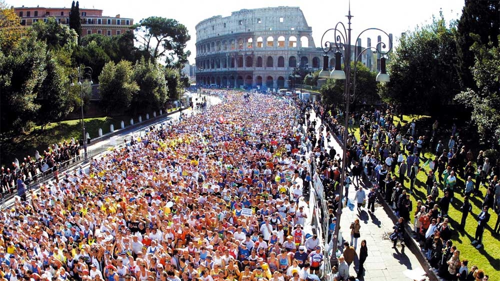 Maratona di Roma - Photo:www.maratonadiroma.it
