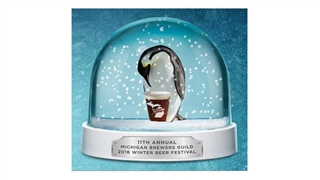 Michigan Brewers Guild Winter Beer Festival Poster