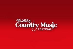 Mildura Country Music Festival poster - Photo: www.milduracountrymusic.com.au