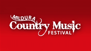 Mildura Country Music Festival poster