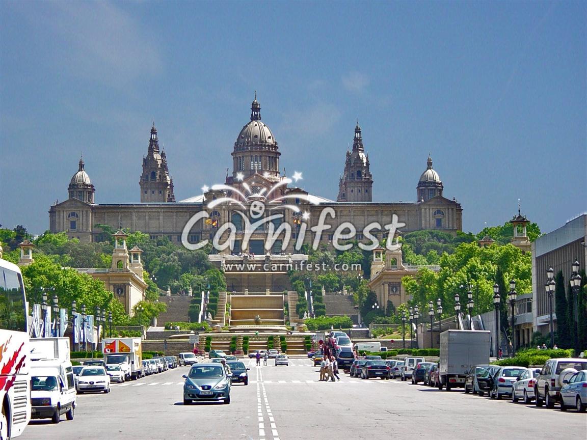 Barcelona Montjuic barcelona - CarniFest Online Photo © All Rights Reserved