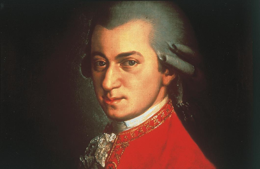 Wolfgang Amadeus Mozart portrait - W.A.M
