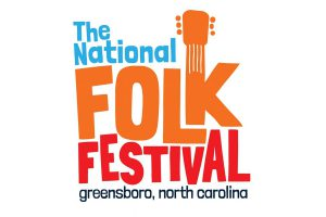 The National Folk Festival ,Greensboro, N.C  poster - Photo: nationalfolkfestival.com