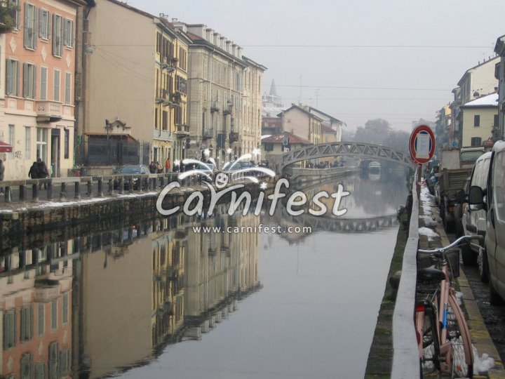 Naviglio Grande (Canal) - CarniFest Online Photo © All Rights Reserved