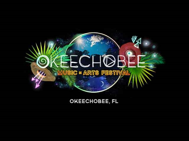 Okeechobee Music Arts Festival poster - Photo by: http://okeechobeefest.com