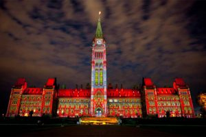 Ottawa Lumiere - Evening of Light Celebration - Photo: www.ottawafestivals.ca