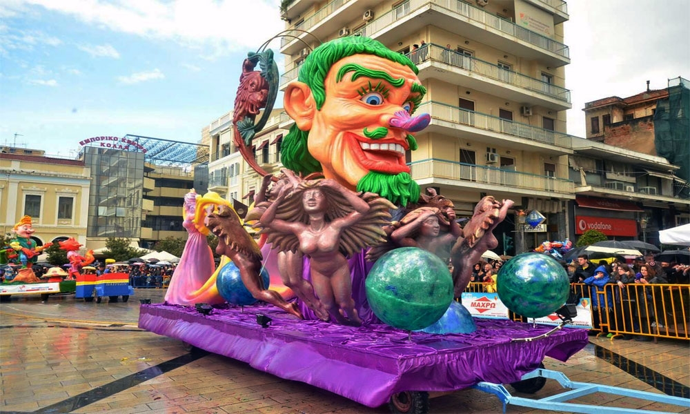 Patras Carnival, Greece - Photo: www.carnivalpatras.gr