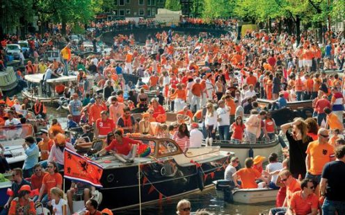 Kings Day in Amsterdam