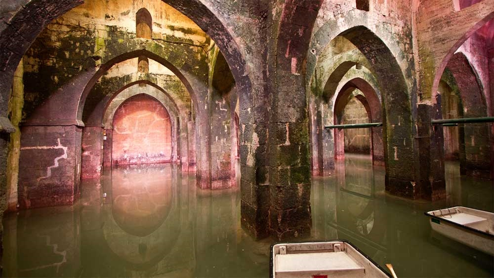 Ramla -The Pool of Arches - Photo by: Ron Peled