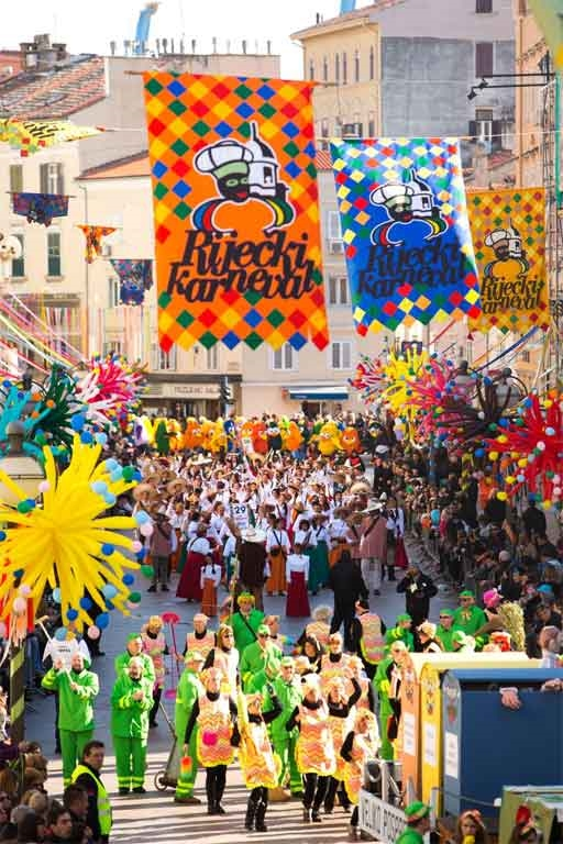 Rijeka Carnival - Photo courtesy of: Rijeka Tourist Board