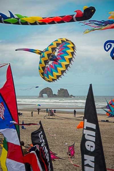 Rockaway Beach Kite Festival - Photo by: www.rockawaybeach.net