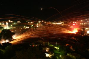 Rocket War in Chios Island - Photo by: www.visitgreece.gr