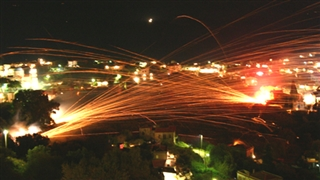 Rocket War in Chios Island