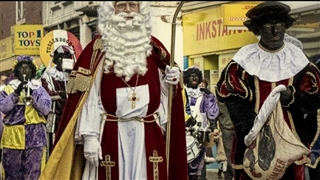 Saint Nicolas day in Aruba