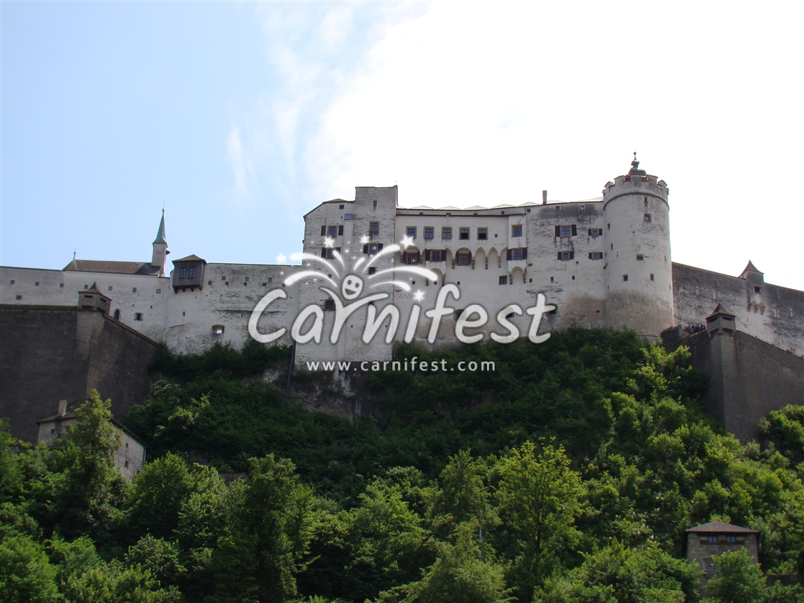 Hohensalzburg Castle - Salzburg - CarniFest Online Photo © All Rights Reserved