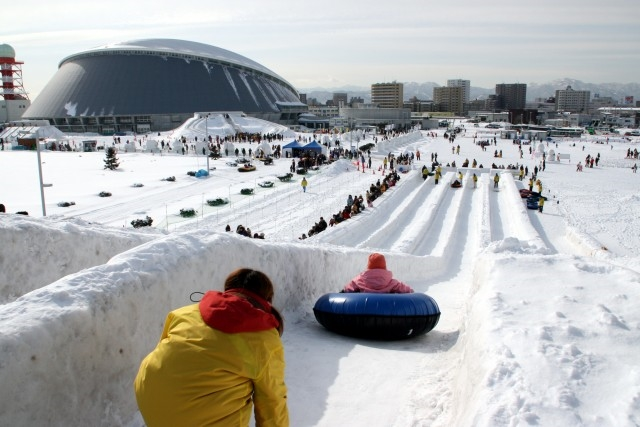 Sapporo Snow Festival - Photo by: www.snowfes.com