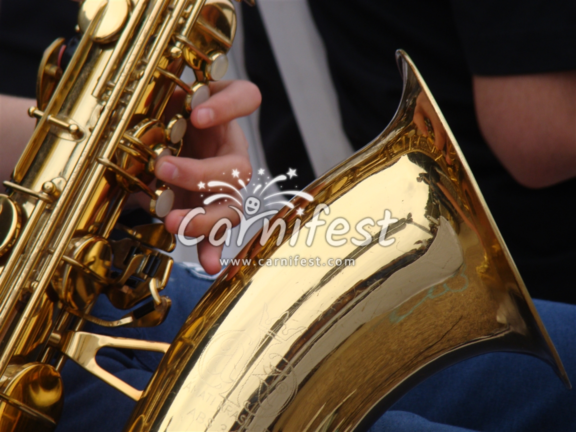 Saxophone - CarniFest Online Photo © All Rights Reserved