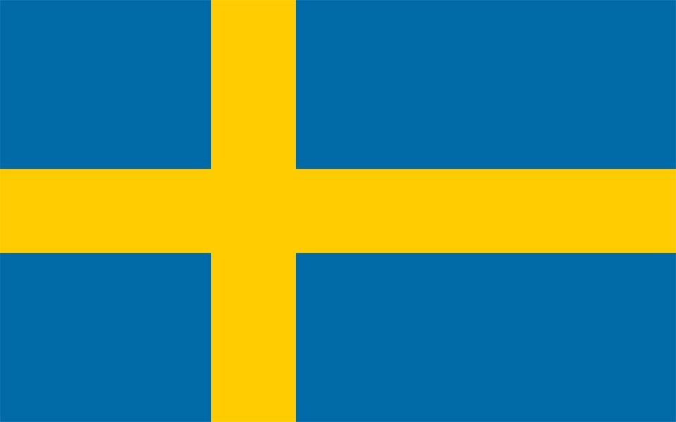 Sweden flag - .