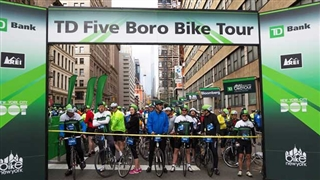 TD New York  Five Boro Bike Tour