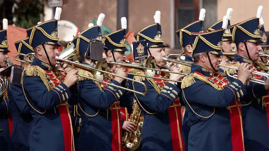 The Netherlands Military Tattoo Festival In Rotterdam 2019