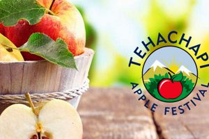 Tehachapi Apple Festival poster - Photo: www.tehachapiapplefestival.com