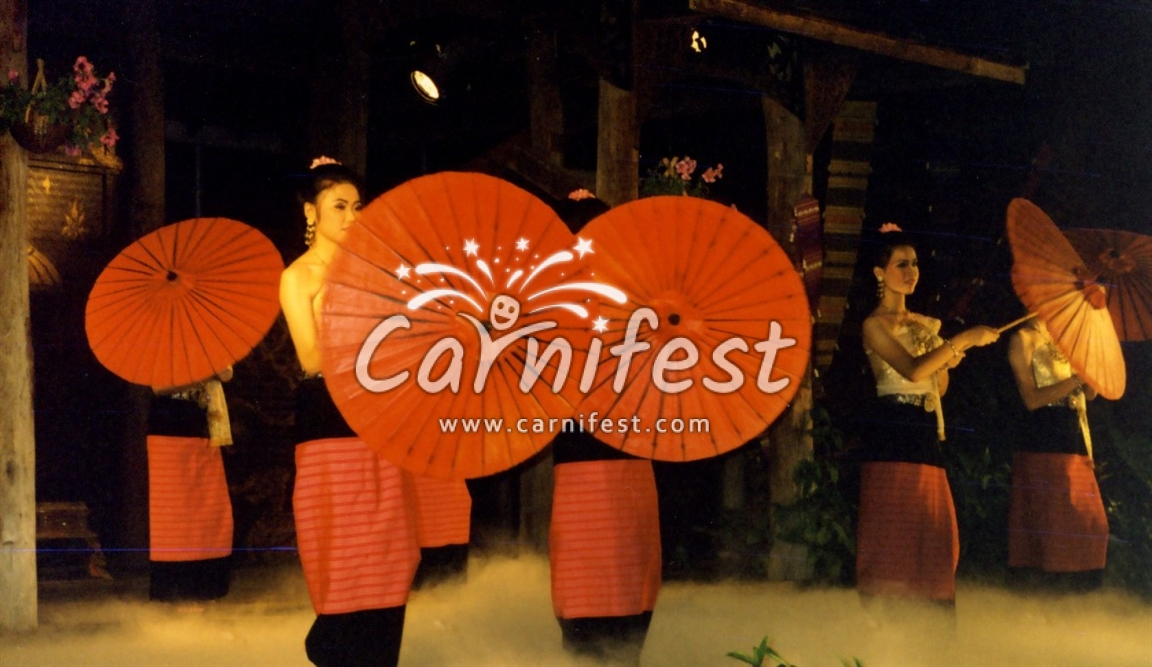 Traditonal Thai dance - CarniFest Online Photo © All Rights Reserved