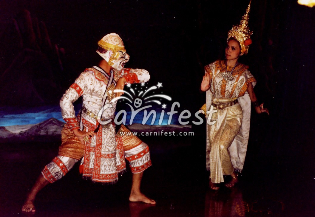Traditonal Thai dance show - CarniFest Online Photo © All Rights Reserved