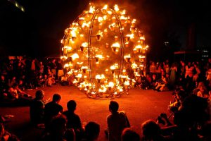Fire Garden by Compagnie Carabosse, as part of London's Burning - Photo by Barry Lewis / Press