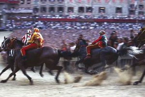 The Palio - Siena - Photo by: www.terresiena.it