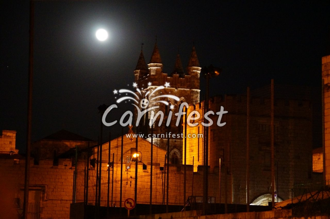 The city of Jerusalem - St. Georges Cathedral - CarniFest Online Photo © All Rights Reserved
