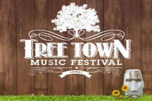 Tree Town Festival poster - Photo by: www.treetownfestival.com