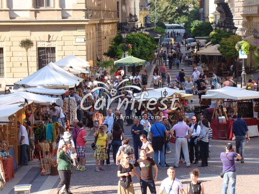 Vaci pedestrian shopping street, Budapest - CarniFest Online Photo © All Rights Reserved