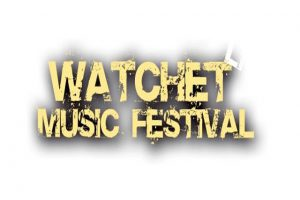 Watchet Festival logo banner - Courtesy of Michael Eccleshall, Music Media Relations